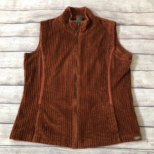 Woolrich Kinsdale Corduroy Zip Front Vest Size L